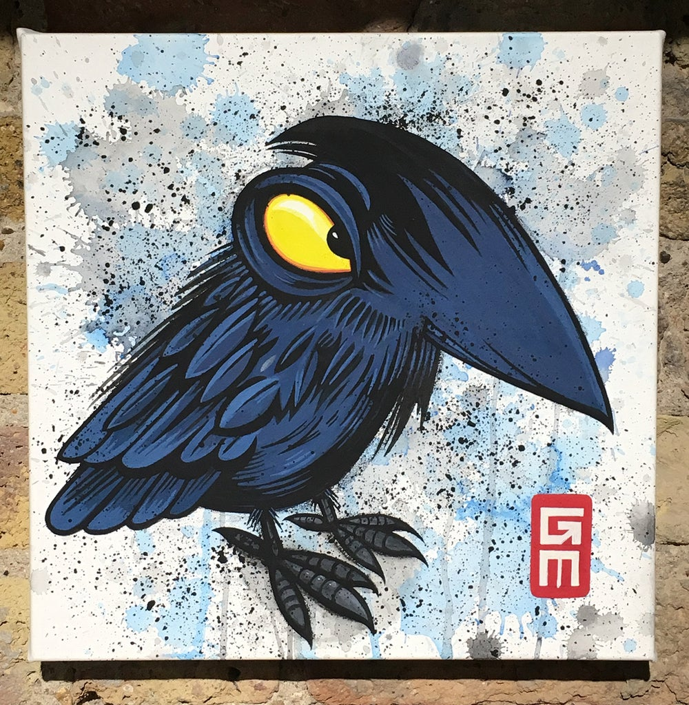 Image of Raven Original Painting