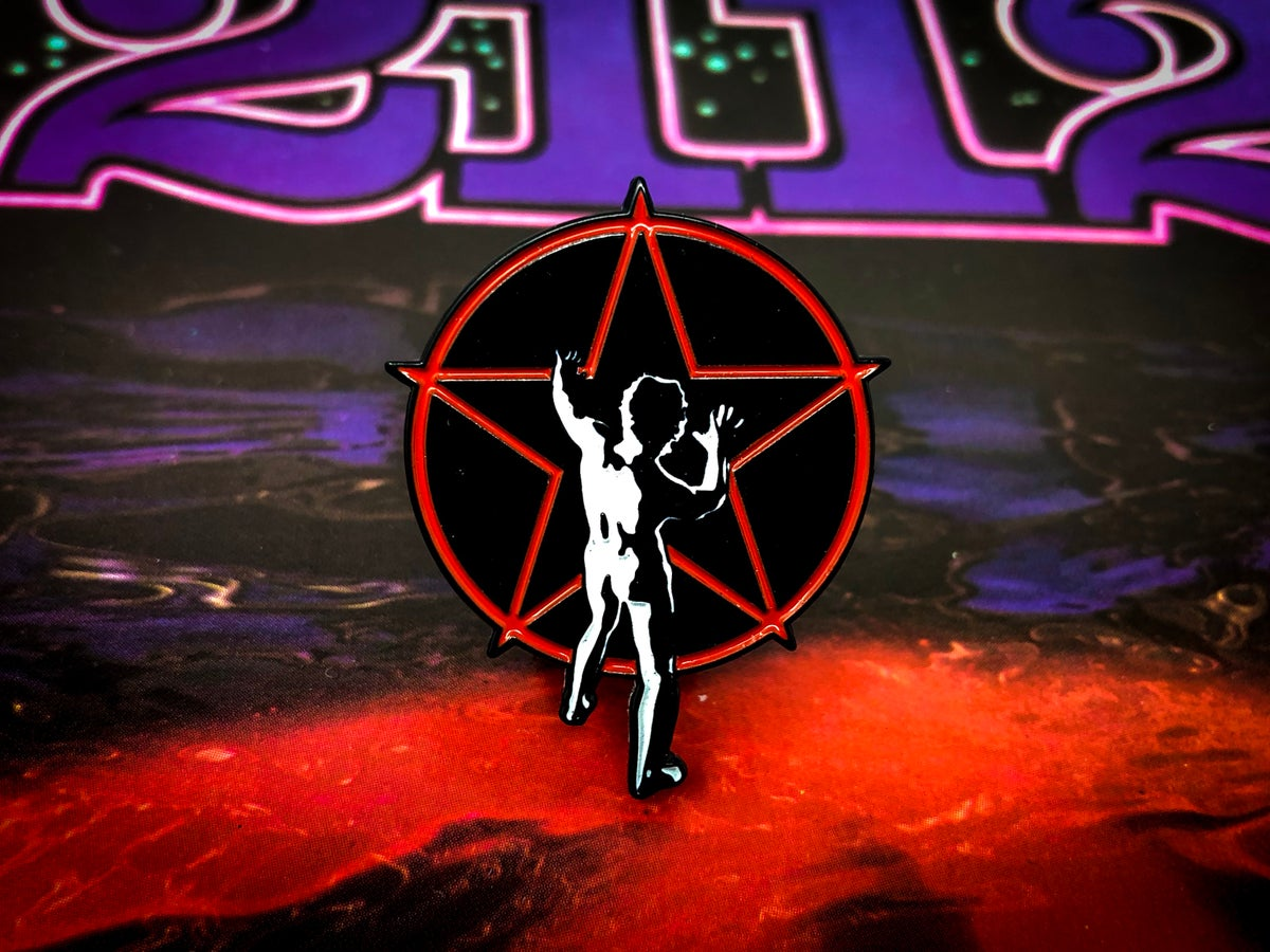 Image of Rush - Starman Enamel Pin
