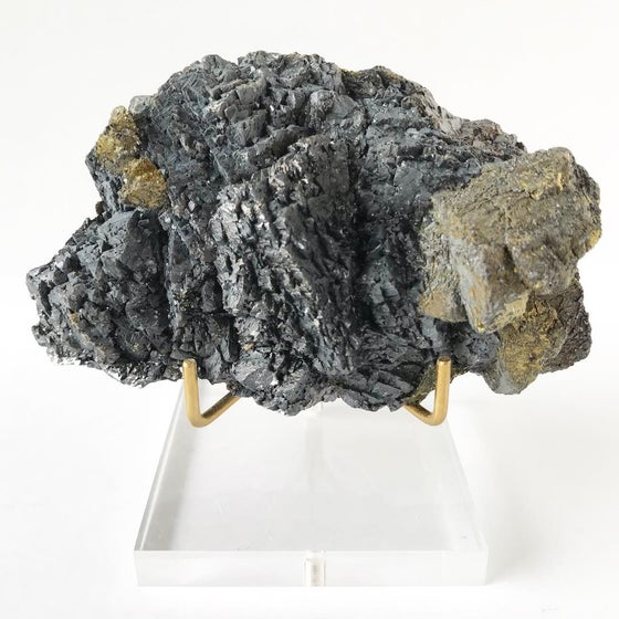 Image of Galena/Chalcopyrite no.05 Stardust Collection Lucite Pairing