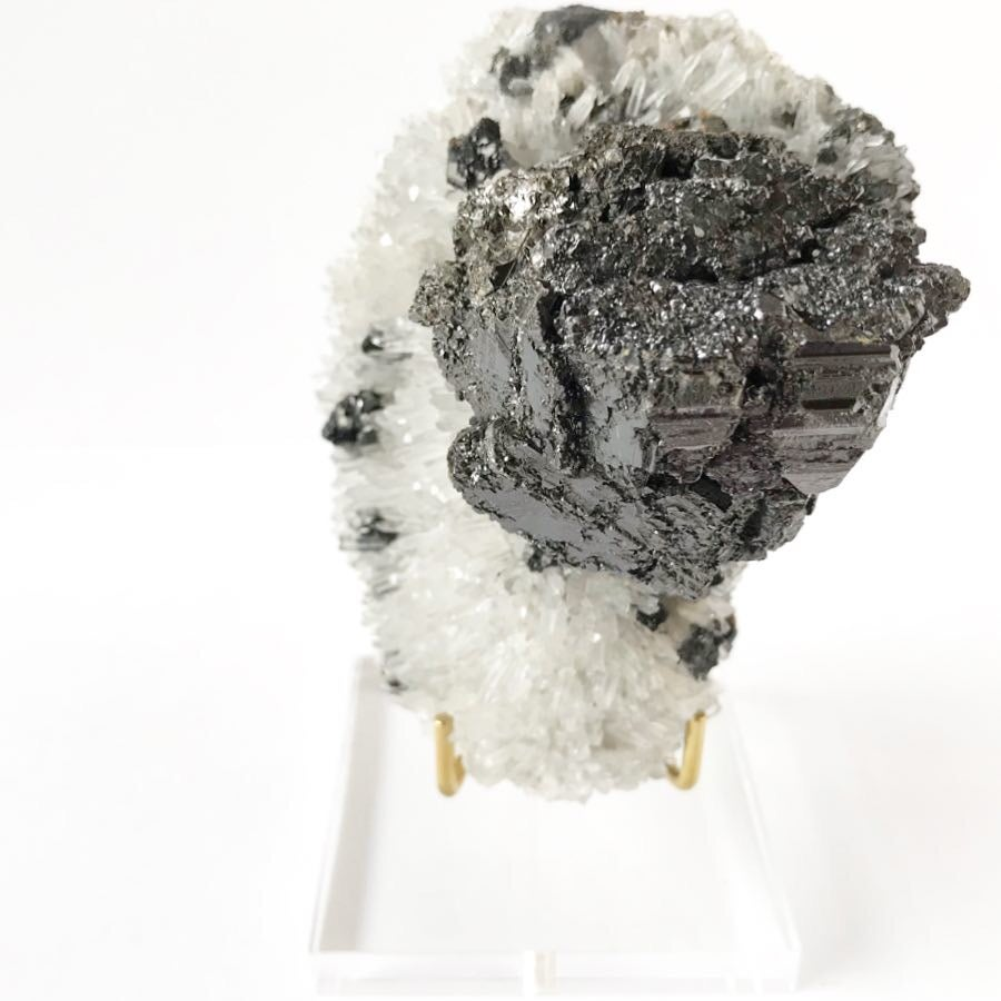 Image of Galena/Quartz no.09 Stardust Collection Lucite Pairing