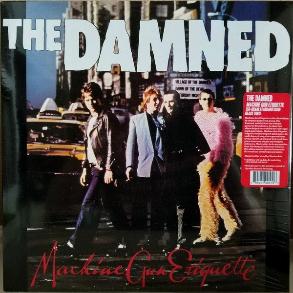 "Image of the DAMNED - ""Machine Gun Etiquette"" LP"
