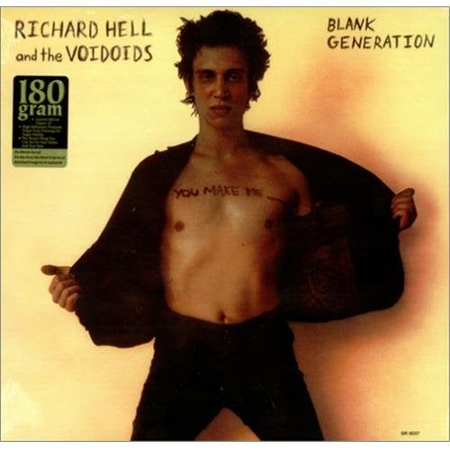 "Image of RICHARD HELL & the VOIDOIDS - ""Blank Generation"" LP"