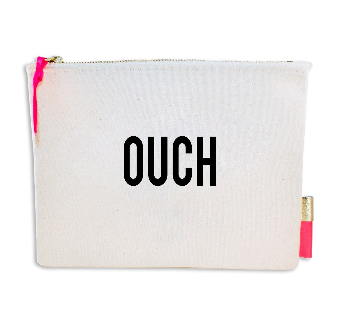 Image of PIPI CUCU CANVAS CLUTCH-  OUCH