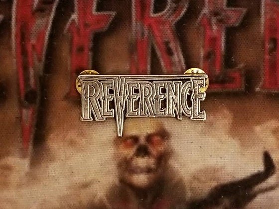 Image of Reverence Metal Logo Pin/Badge