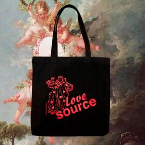 Image of Love Source Valentine's Tote Bag