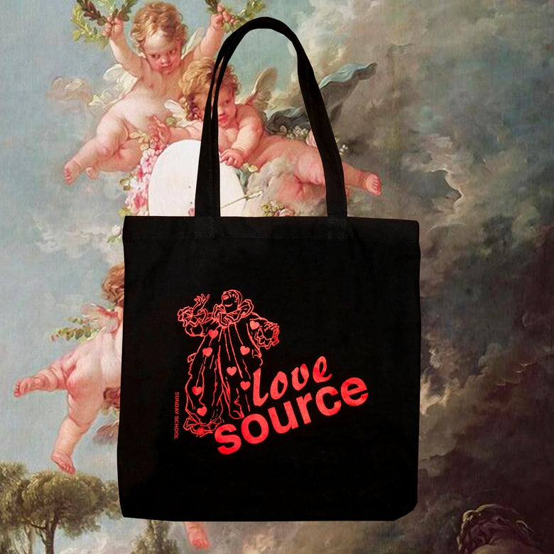 Image of Love Source Valentine's Tote Bag