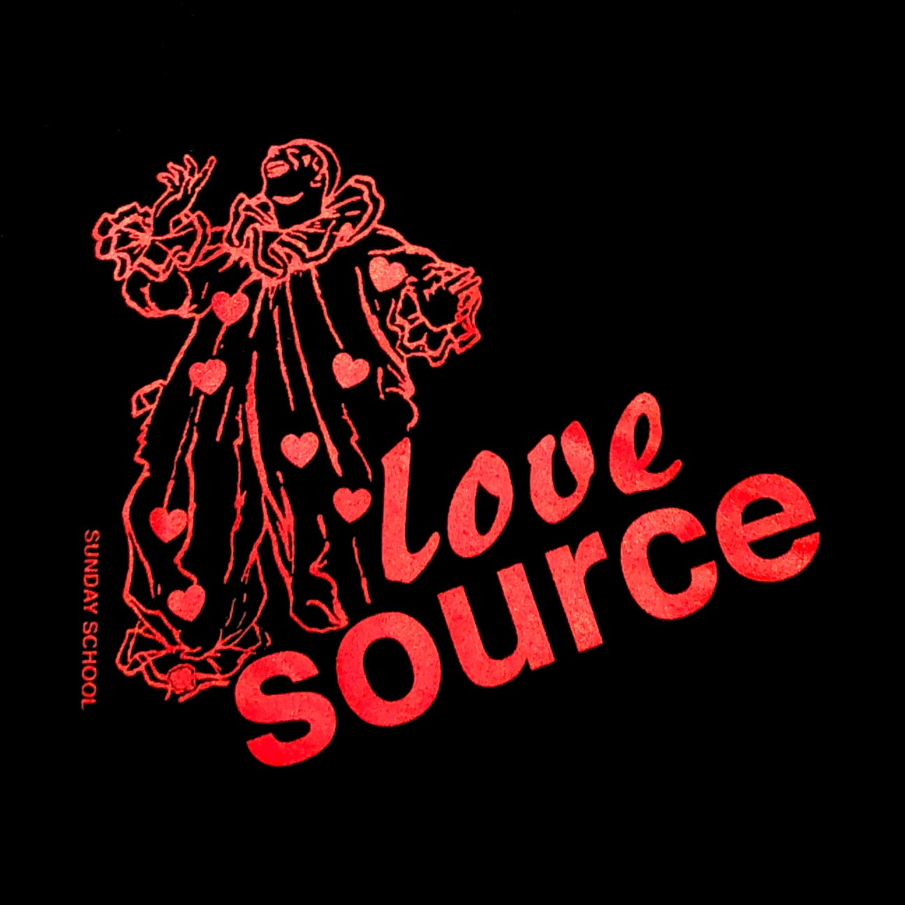 Love Source Valentines Tote Bag Sunday School Nyc