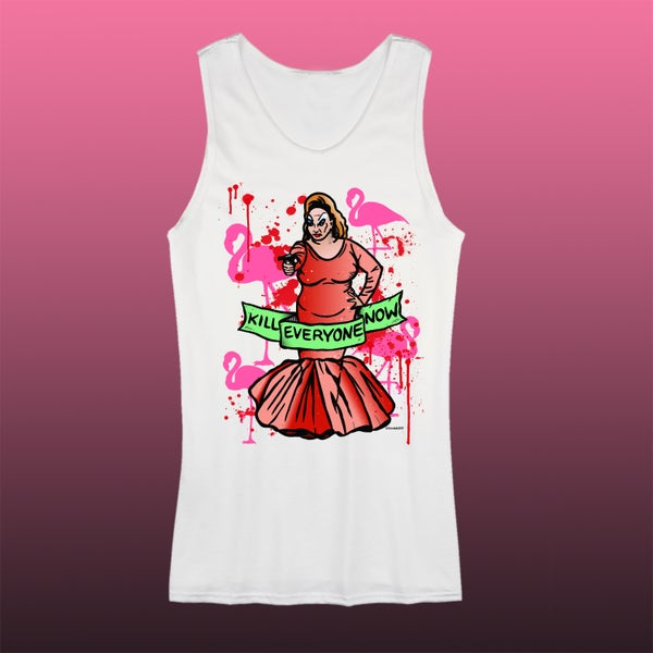 Image of Kill Everyone Now PINK TANK