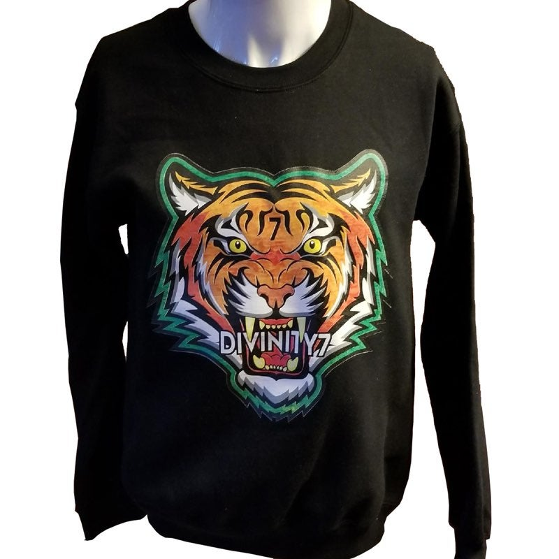 Image of Black Tiger Sweater