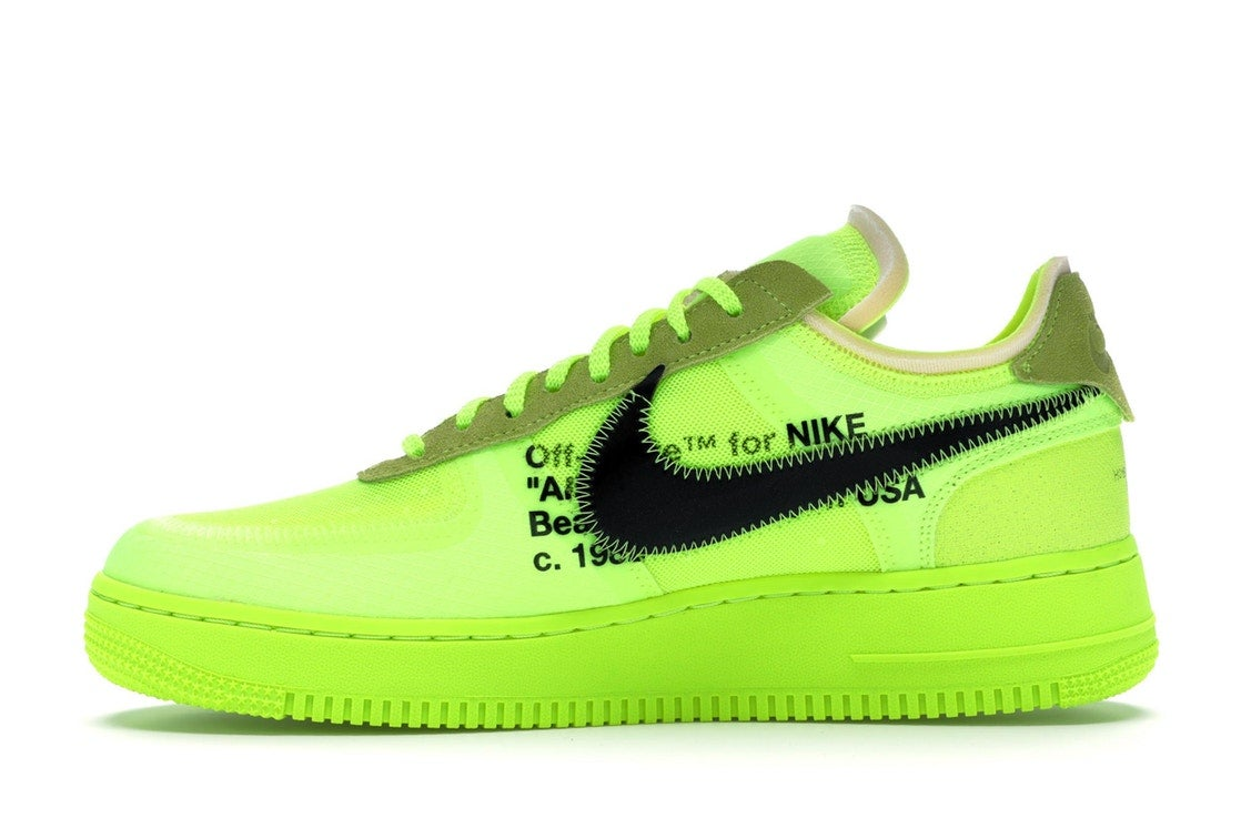 nike off white volt