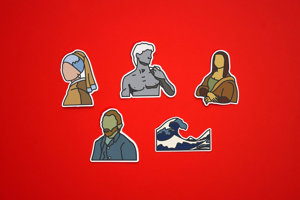 Image of Old Master Painting Stickers