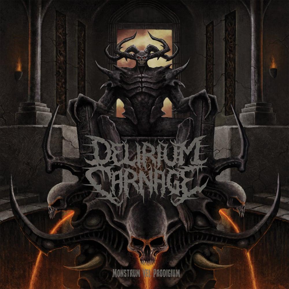 Image of DELIRIUM CARNAGE 'Monstrum Vel Prodigium' CD