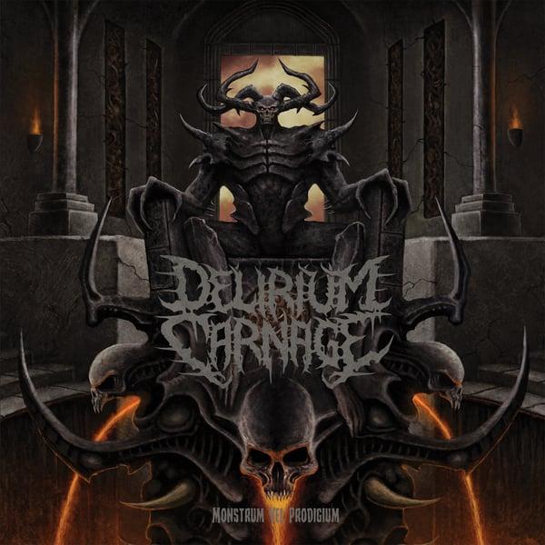Image of PRE-ORDER DELIRIUM CARNAGE 'Monstrum Vel Prodigium' CD