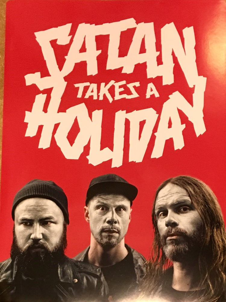 Image of Satan Takes a Holiday - Aliens (Poster)