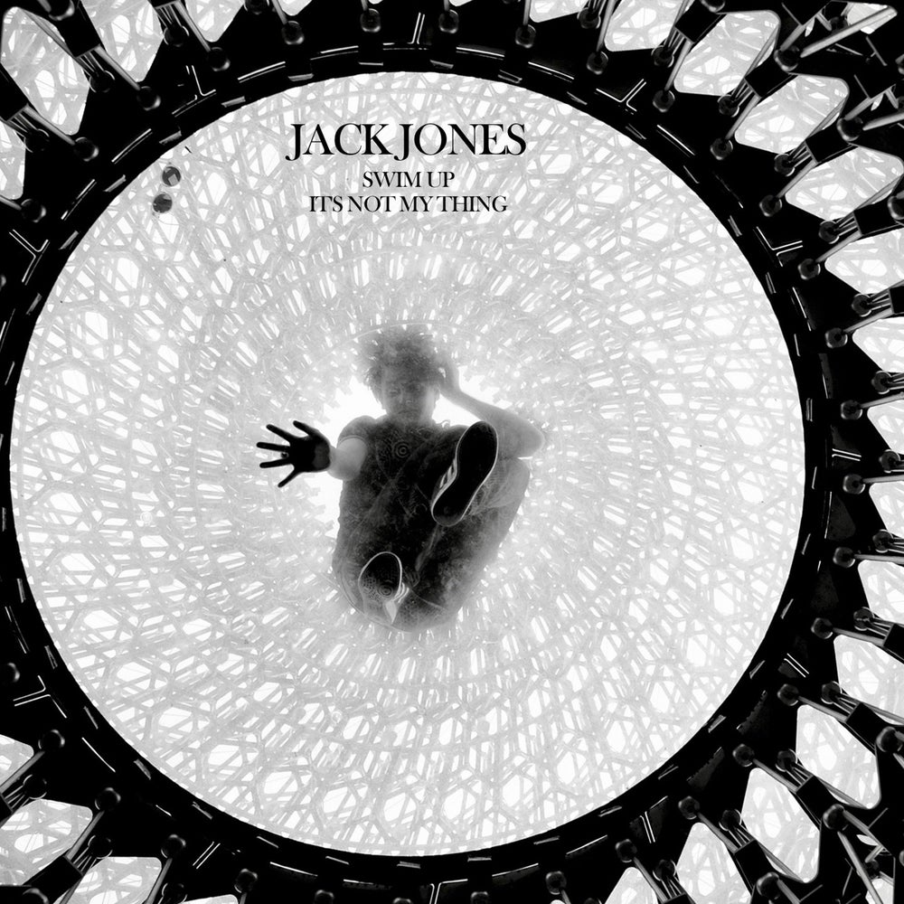 "Image of Limited Jack Jones 7"" vinyl + signed postcard"