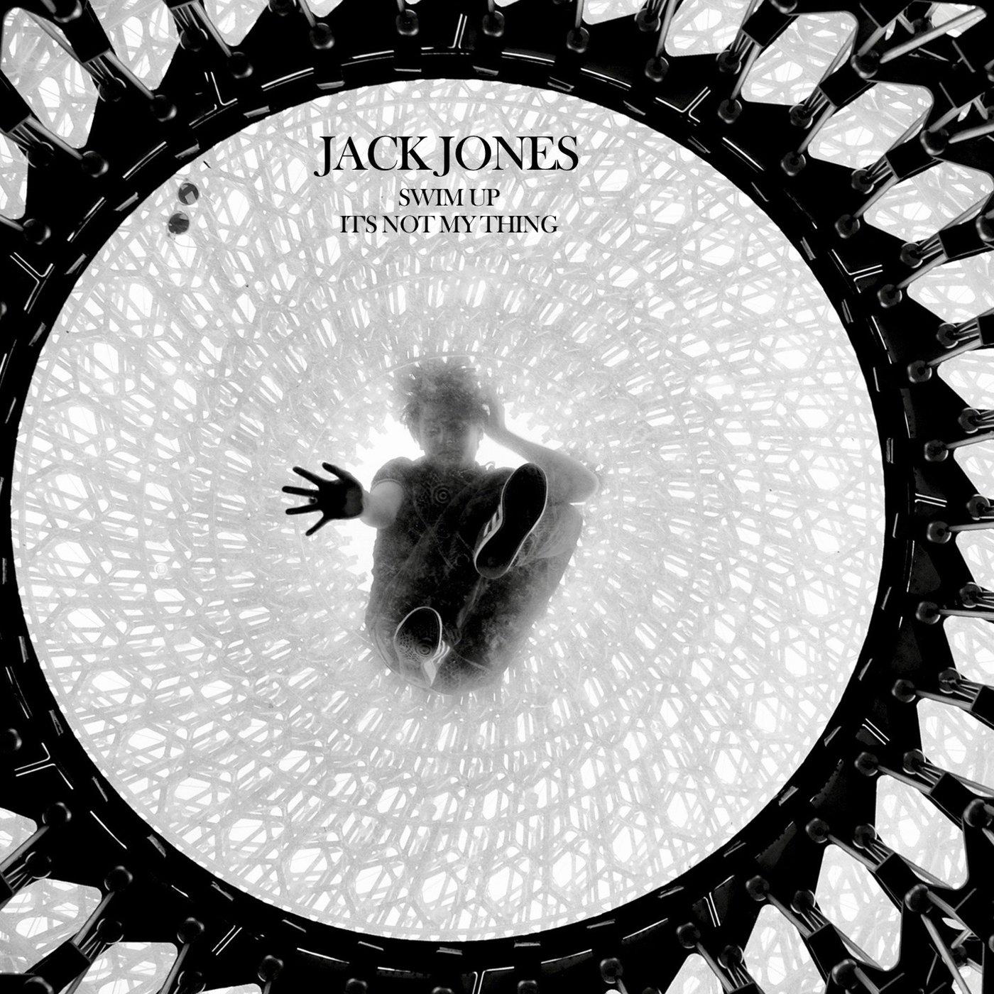 """Image of Limited Jack Jones 7"""" vinyl + signed postcard"""