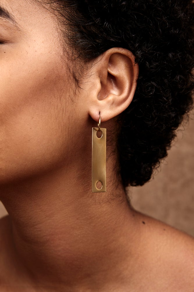 Image of The Platter Growls Earring