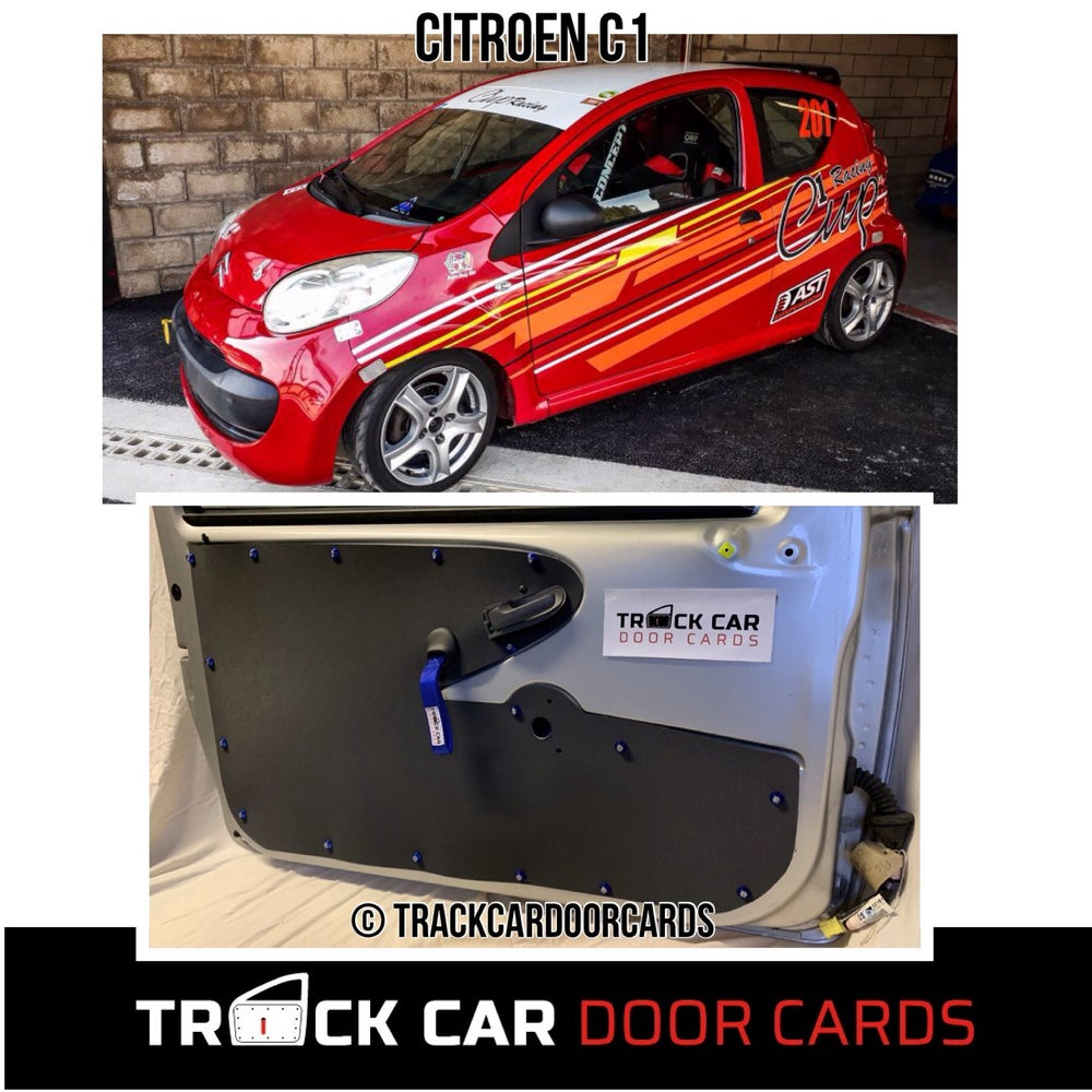 Image of Citroen C1 full Track Car Door Cards