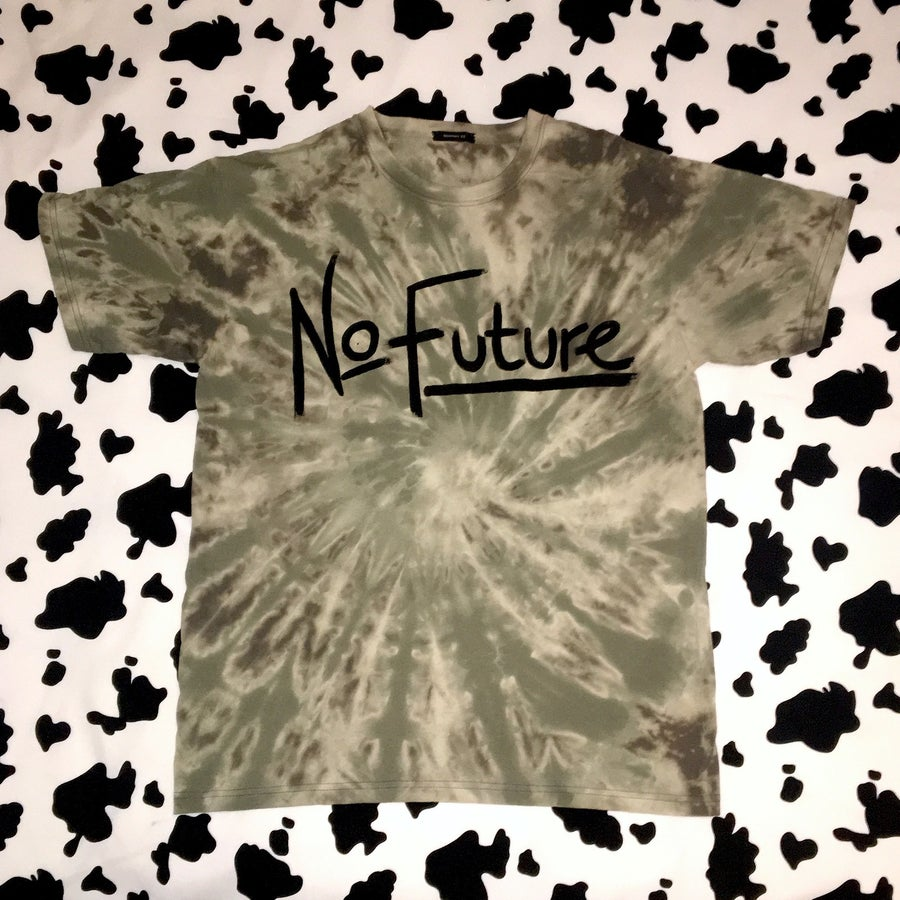 Image of No Future T-Shirt (Grey/Black)