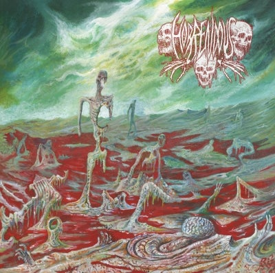 Image of Horrendous • Sweet Blasphemies (Black Vinyl)