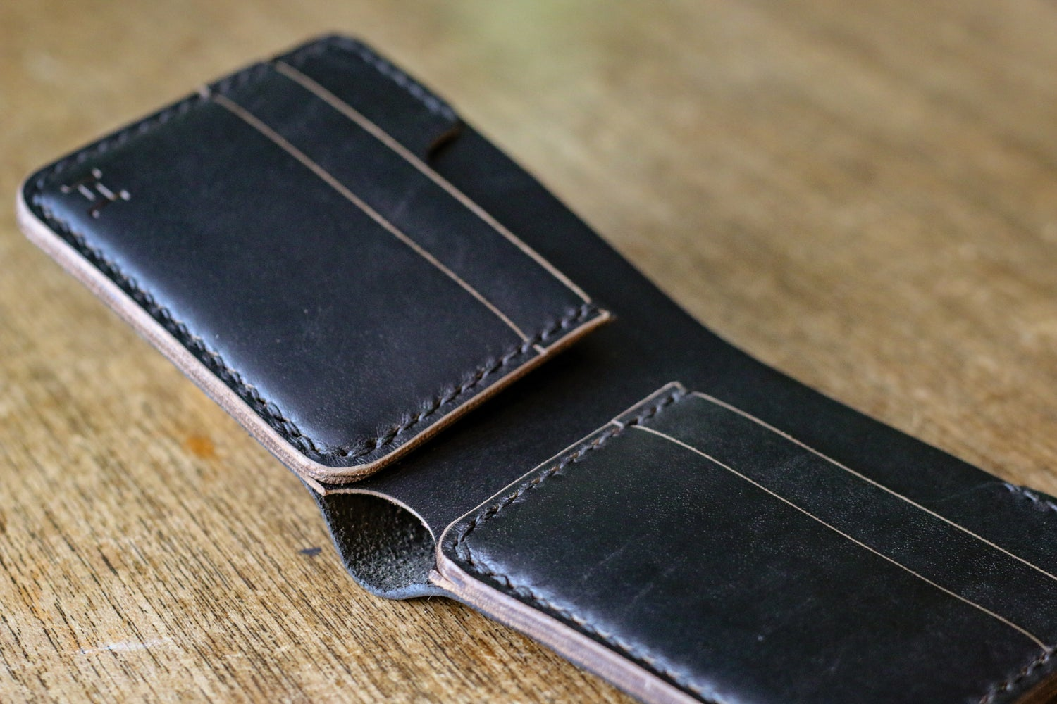Image of Rivision Bifold in Black Horween Chromexcel