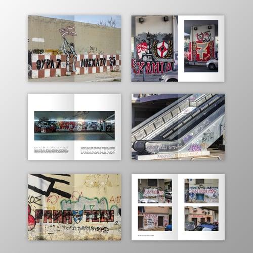 Image of Fanzine Pack - Graffiti of AEK - PAO - Olympiakos