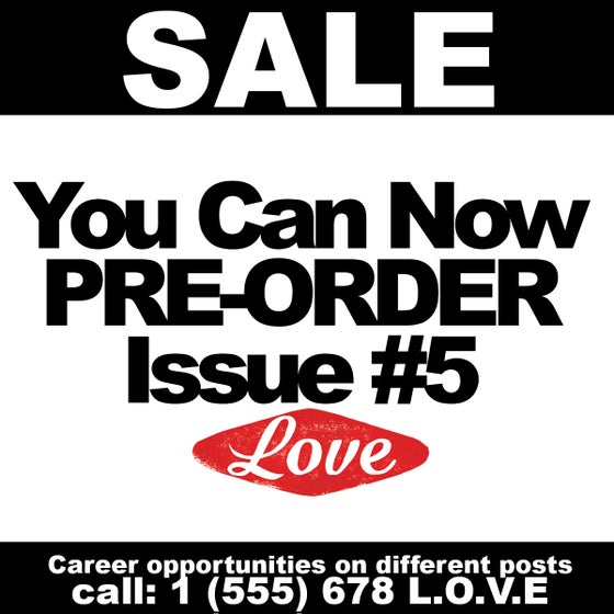 Image of Love Skate mag Issue #5 PRE-ORDER