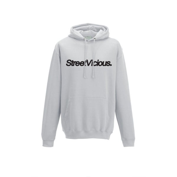Image of Street Vicious Simple College Hoodie - Ash Grey