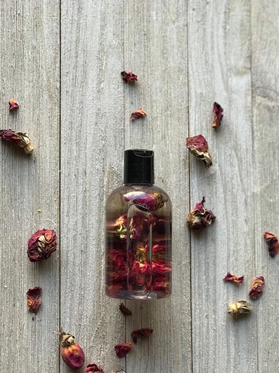 Image of Rose Infused Bath and Body Oil
