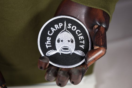 Image of NEW CHAPTER OFFICIAL CULT PATCH *CARP SOCIETY*