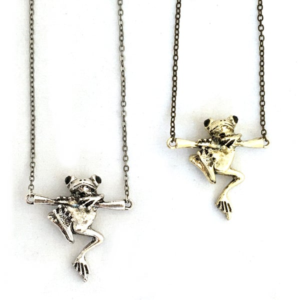 Image of 3D Frog Pendant