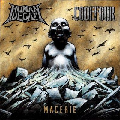 "Image of ""Macerie"" Human Decay/Codefour split-album"