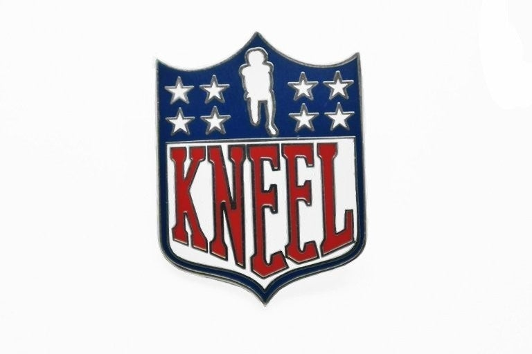 Image of KNEEL Shield Pin