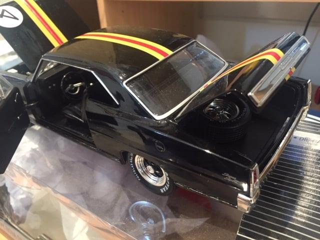 Image of Norm Beechey 1:18 1966 Chevrolet Nova. ATCC. Trident Shell colours.