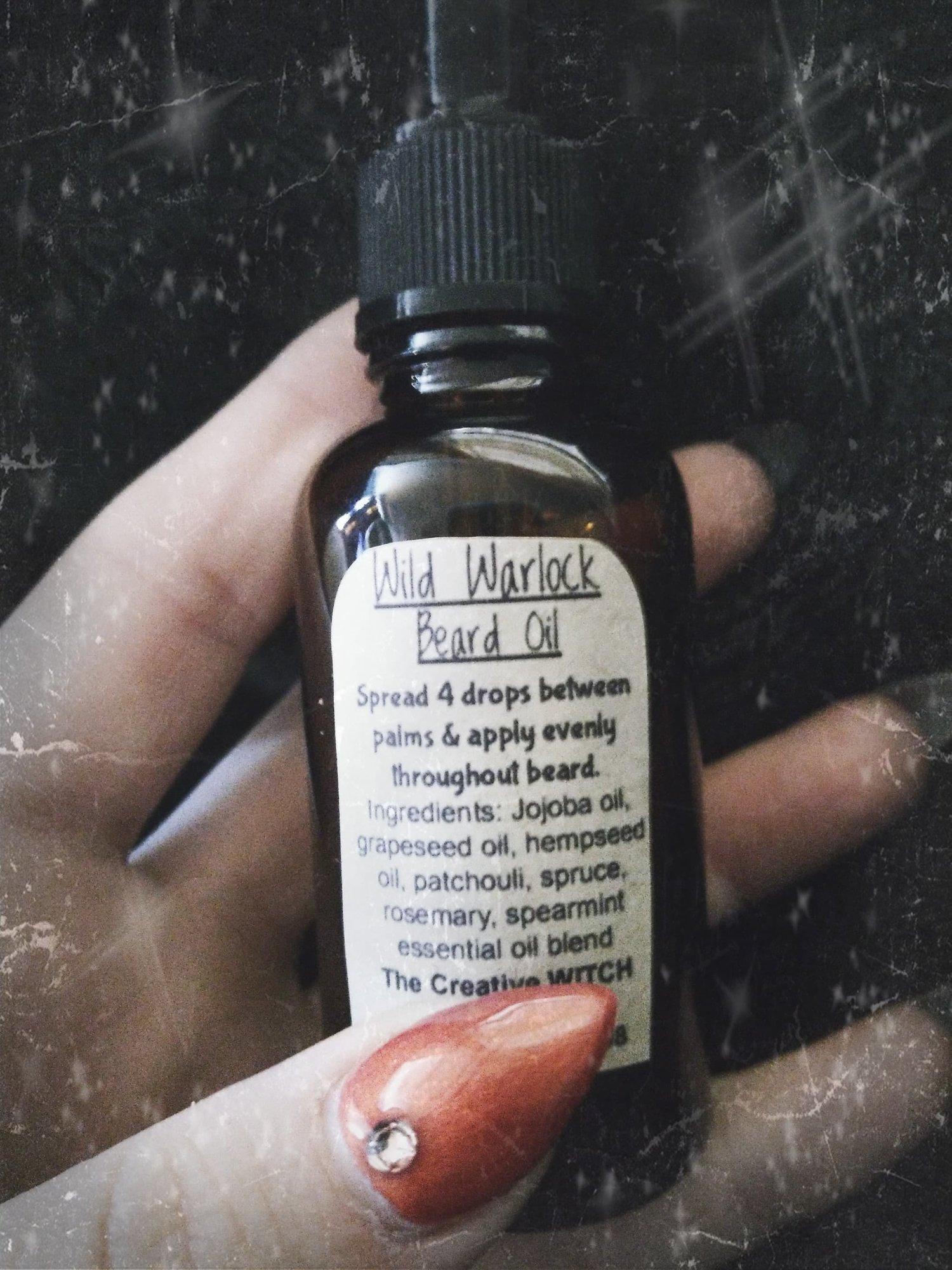 Image of Wild Warlock Beard Oil
