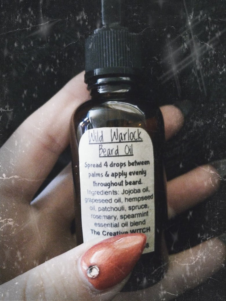 Image of Wild Warlock Beard Oil