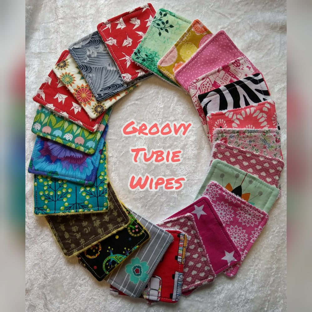 Image of Washable Tubie Wipes 6 pack