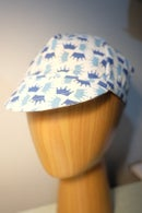 Image 2 of Cotton cycling cap - blue crowns KOM