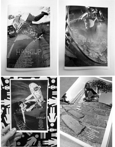 Image of Hangup Zine Back Issues