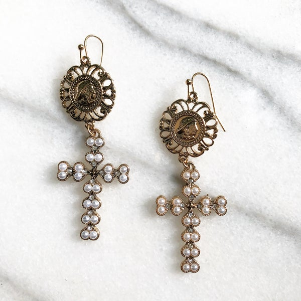 Image of Holy Cross Earrings