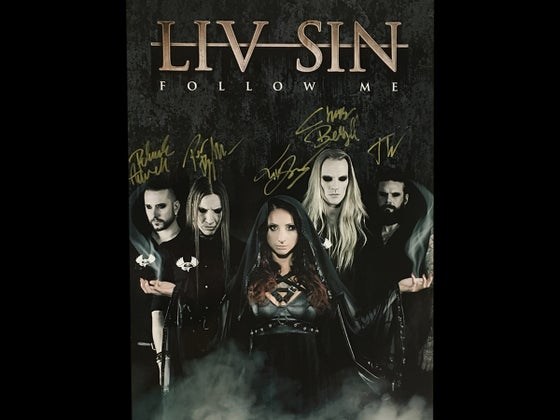 Image of Liv Sin - Follow Me (Signed Poster)