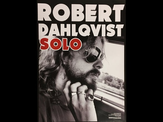 Image of Robert Dahlqvist - Solo  (Signed Poster)