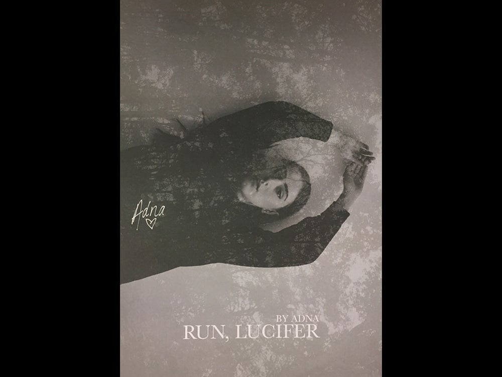 Image of Adna - Run, Lucifer (Signed Poster)