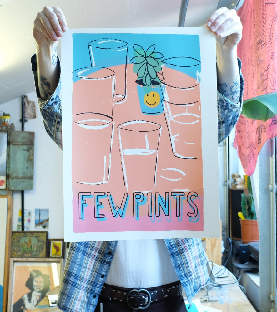 Image of 'Few Pints' print