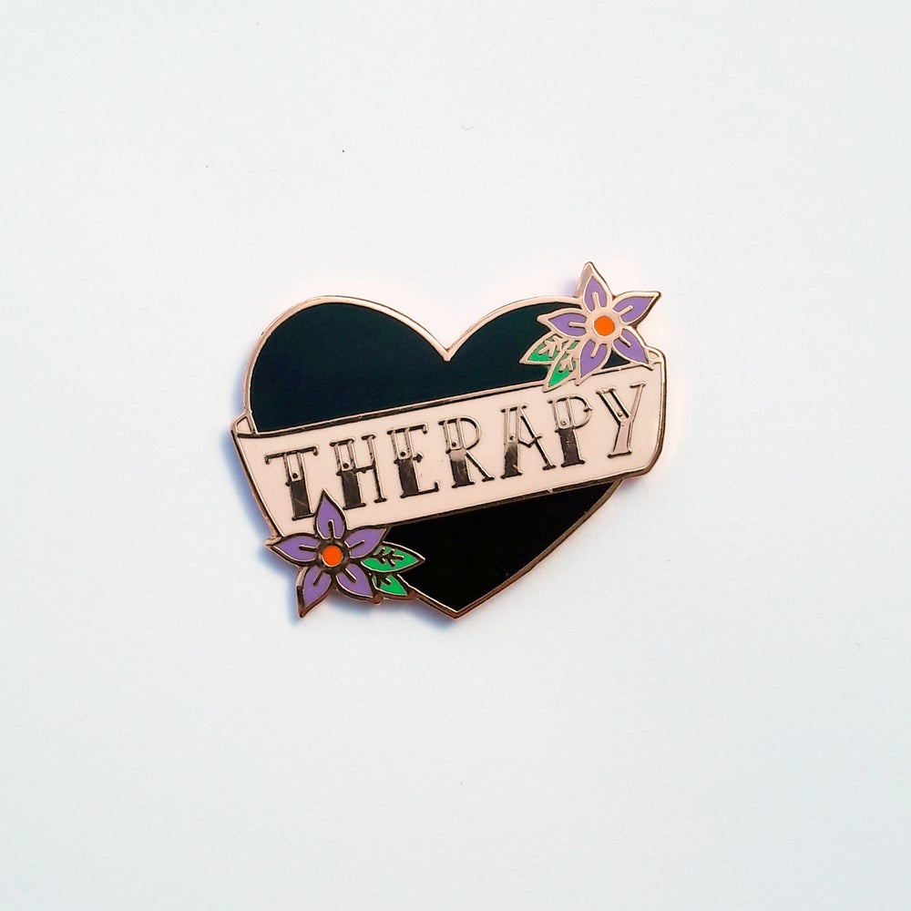Image of Therapy pin