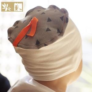 "Image of Bonnet Bambou ""Triangle Ecru"" / Ref TR.E-T"