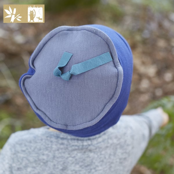 """Image of Bonnet Bambou """"Uni Délavé et plomb - canard / Ref UNI.D-Pc"""
