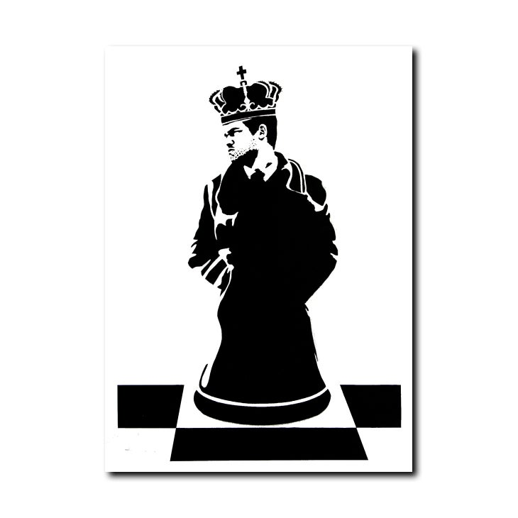 Image of La Staa - King of chess mono