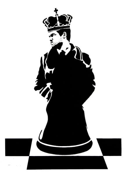 Image of La Staa - King of chess mono