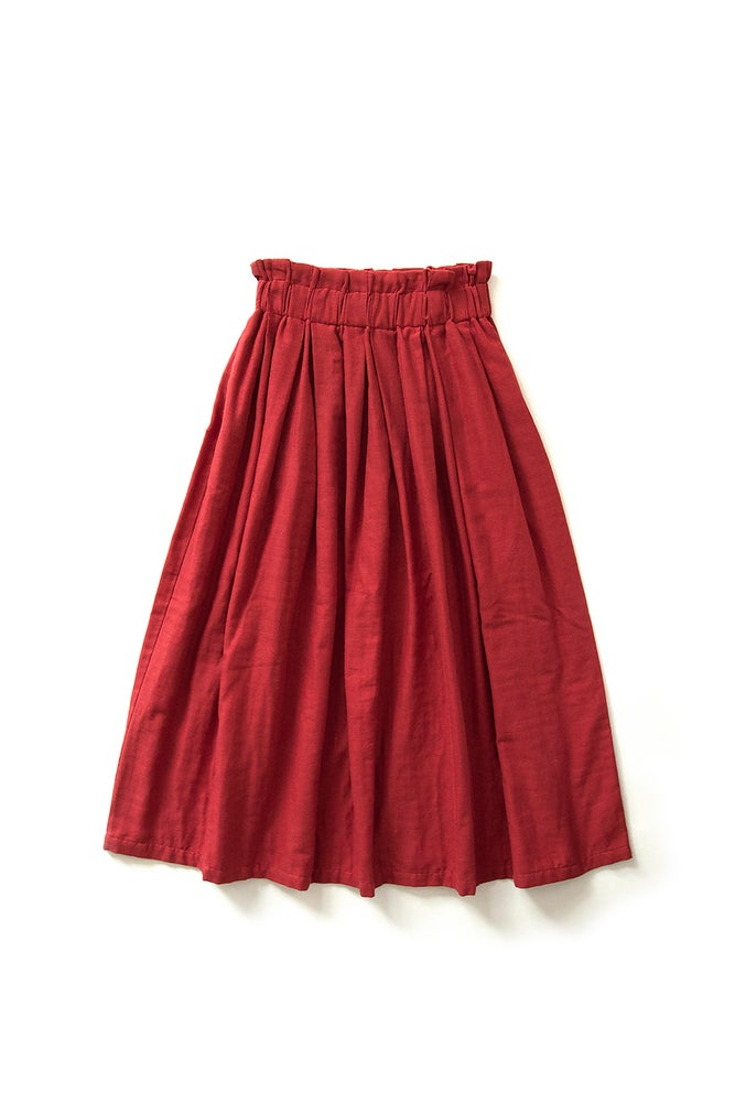 Image of LONG DRAFT SKIRT